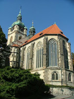 The church of Sts Peter and Paul in Melnik, Czech Republic