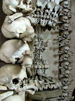Kutna Hora bones outside prague