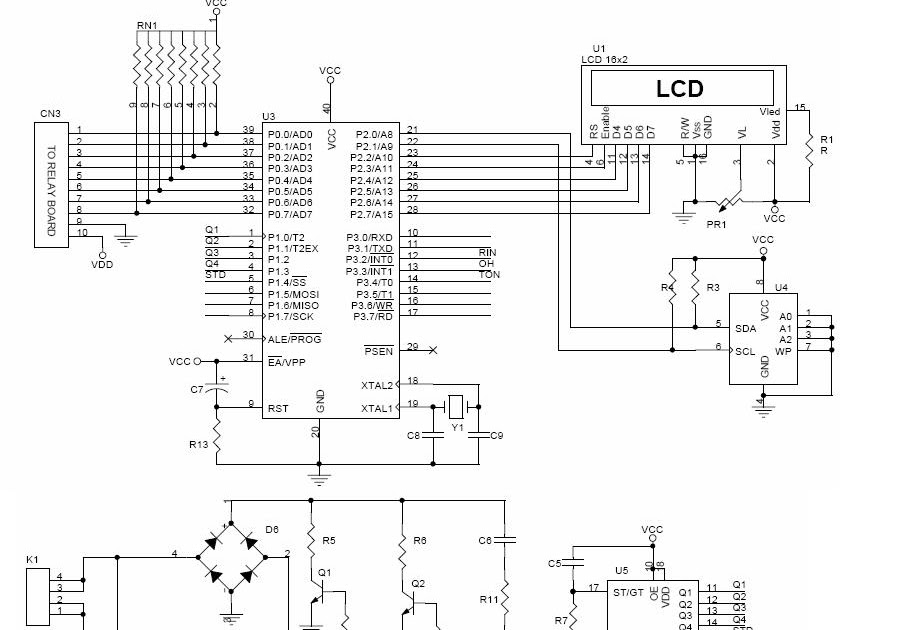embedded projects  home automation control system using
