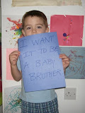 Jad says 'I want it to be a baby brother'