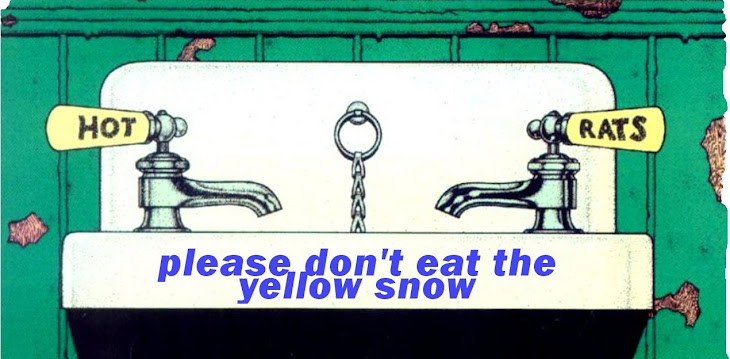 please don't eat the yellow snow