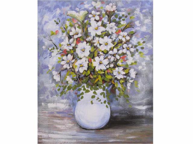 Ilario menegaldo vaso con fiori for Quadri di fiori ad olio