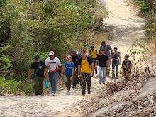 Rapel realizado na serra de Maranguape / Ce, dia 12 de outubro de 2008