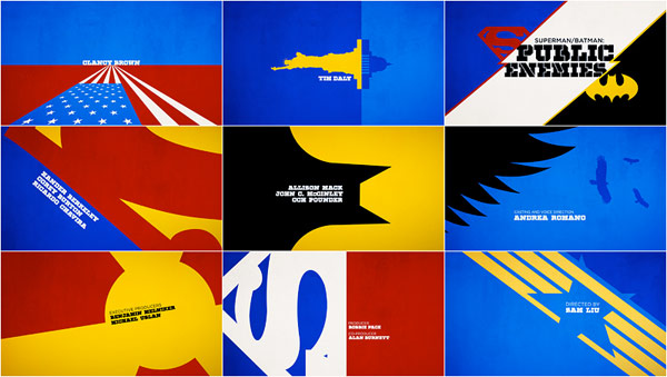 Superman/Batman: Public Enemies [OPENING TITLES]