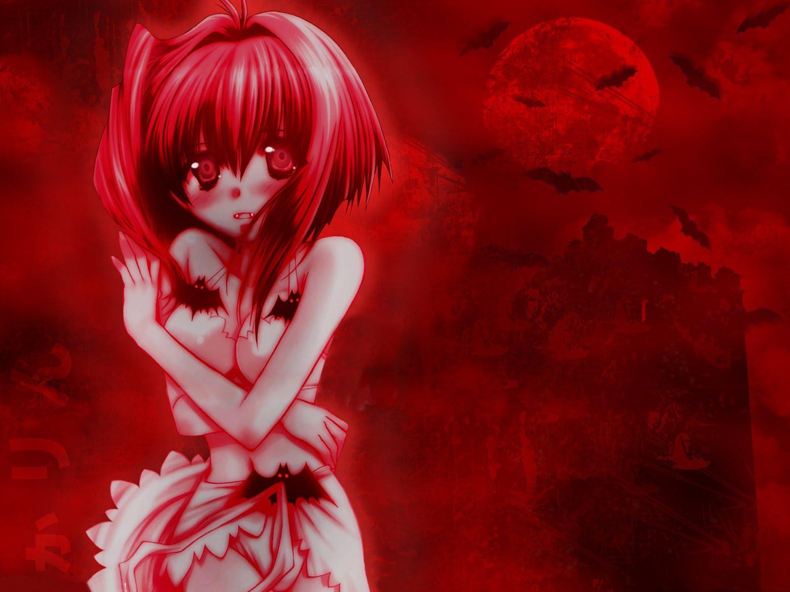 buscando vampiros y lobos Konachan.com+-+2030+blush+karin+maaka_karin+red+vampire