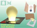 LED CARD.TIPIS DPT DIMASUKKAN DOMPET