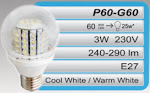 ROYALUX 3W-60LED