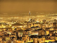 Téhéran dans la nuit