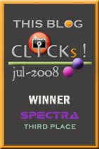 Click July 2008 Award