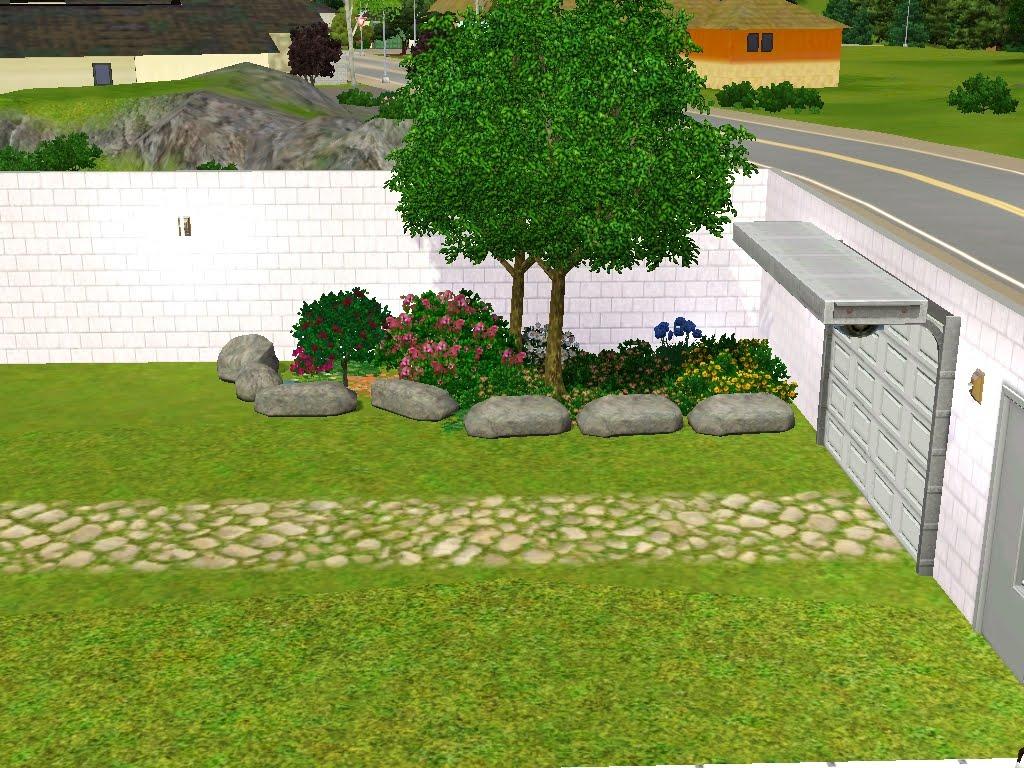 Cia da alegria sobrado sun house for Jardins pequenos e simples