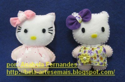 Pregadeiras Hello Kitty