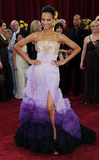 Zoe Saldana 2010 Oscars