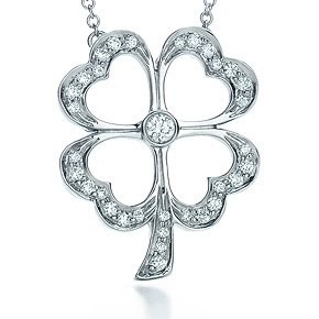 Tiffanys four leaf clover