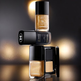 Chanel's Noir et Or Paris Shanghai Collection products