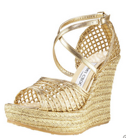 Jimmy Choo woven wedge