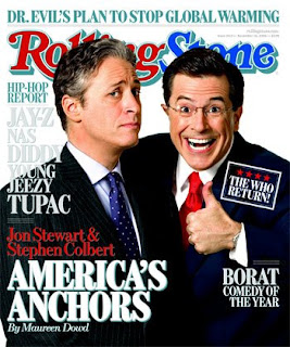 Rolling Stone Jon Stewart Stephen Colbert