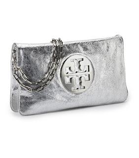 Metallic Reva clutch