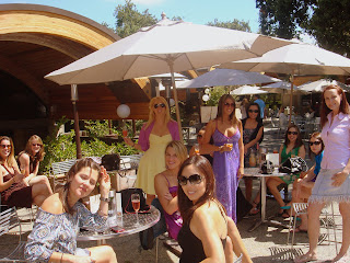 bachelorette party Napa