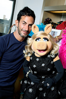 Marc Jacobs and Miss Piggy