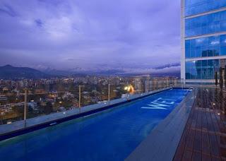 W hotel Santiago pool