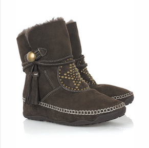 Anna Sui Fit flop boots