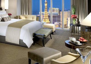 room at Mandarin Oriental Las Vegas