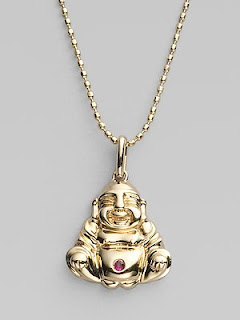 Sydney Evan Buddha Necklace