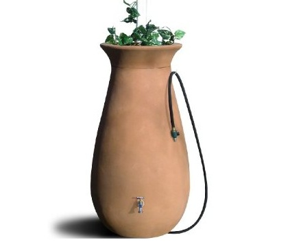 rain water collection and storage barrel