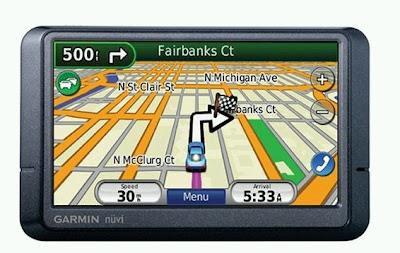GPS Portable Car Navigator