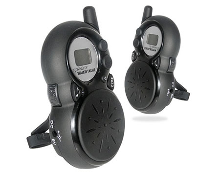 Wind Up Walkie talkies - Eco Friendly Walkie talkie Set