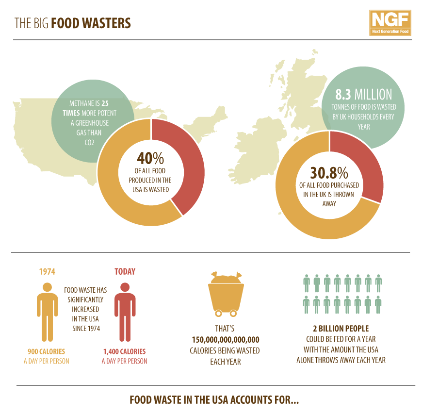 amount of food wasted yearly could have benefited impoverish countries