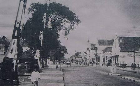 Jalan Malioboro tahun 1936