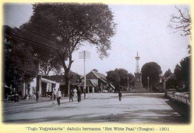 Tugu Jogja Tahun 1901