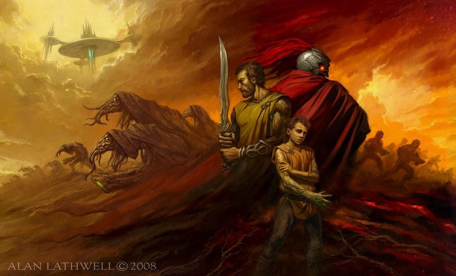 Dark Wolf S Fantasy Reviews Fantasy Art Alan Lathwell