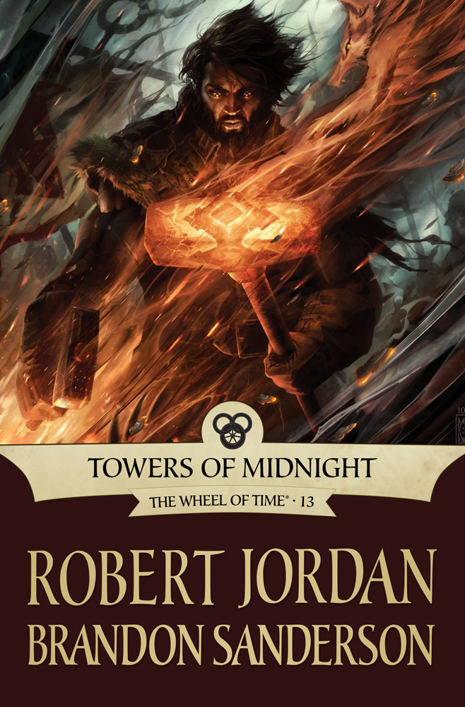 The Wheel of Time: Towers of Midnight 2010 Robert Jordan Hardcover, Preowned