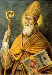 Aurélio Agostinho (Santo Agostinho 354 - 430 d.C) nasceu em Tagasti, Numídia, África.