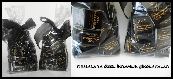 Firmalara Ozel Logolu Cikolata