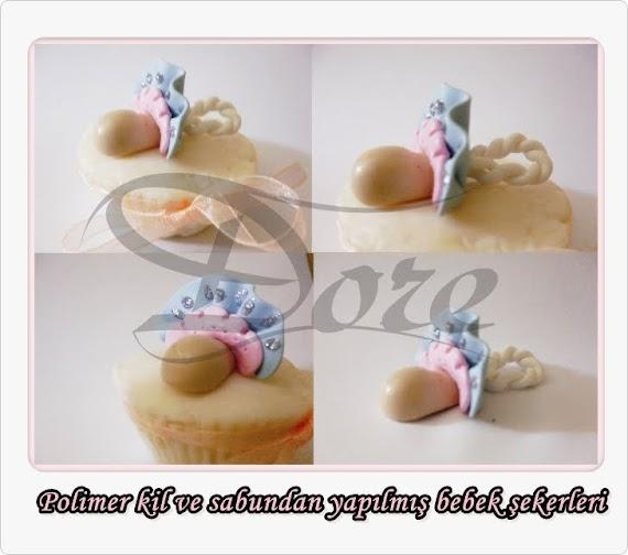 Polimer Kilden Emzik Bebek Sekerleri