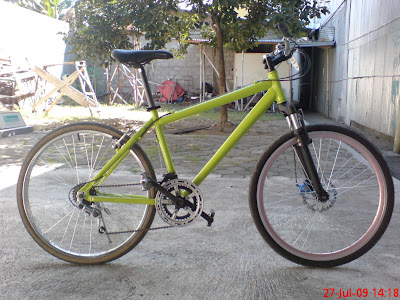 Hidup dalam Putaran Roda: Sepeda rakitan pertamaku; Si i