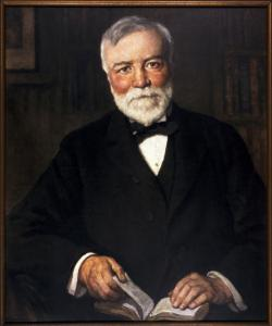 Andrew Carnegie, philanthropist and public library benefactor