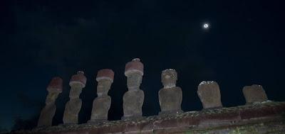 eclipse+pascua Eclipse total de sol en el Pacífico Sur