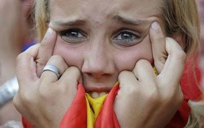 hincha+española 10 fotos sorprendentes del Mundial de Sudáfrica