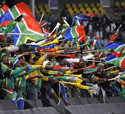 vuvuzelasflags 10 fotos sorprendentes del Mundial de Sudáfrica