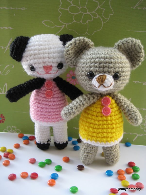 free amigurumi crochet patterns by jennyandteddy: Free ...