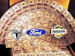 USA Government Set to Loan Billions to Ford, Tesla, and Nissan