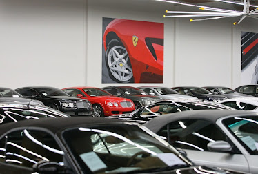A Peek Inside The Showroom...