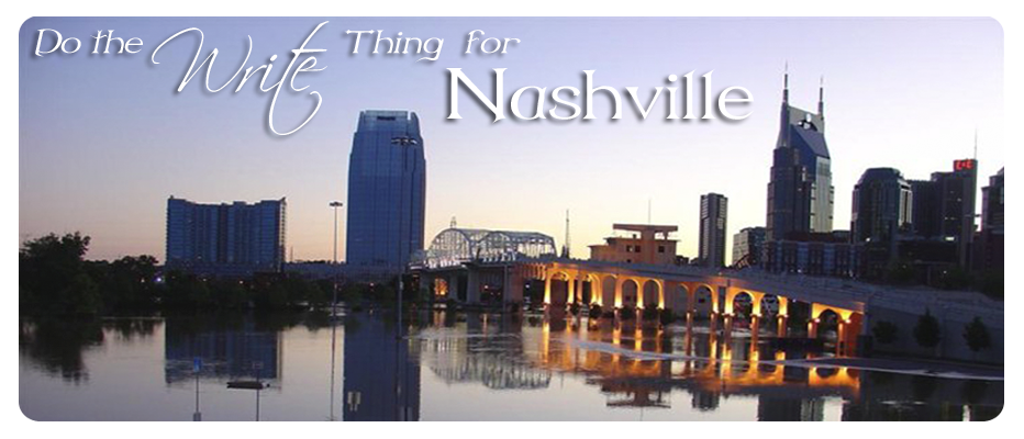 Do the Write Thing for Nashville