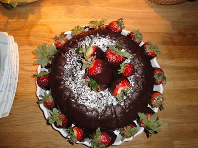 France Chocolate Cake Chocolate Velvet Pound Cake