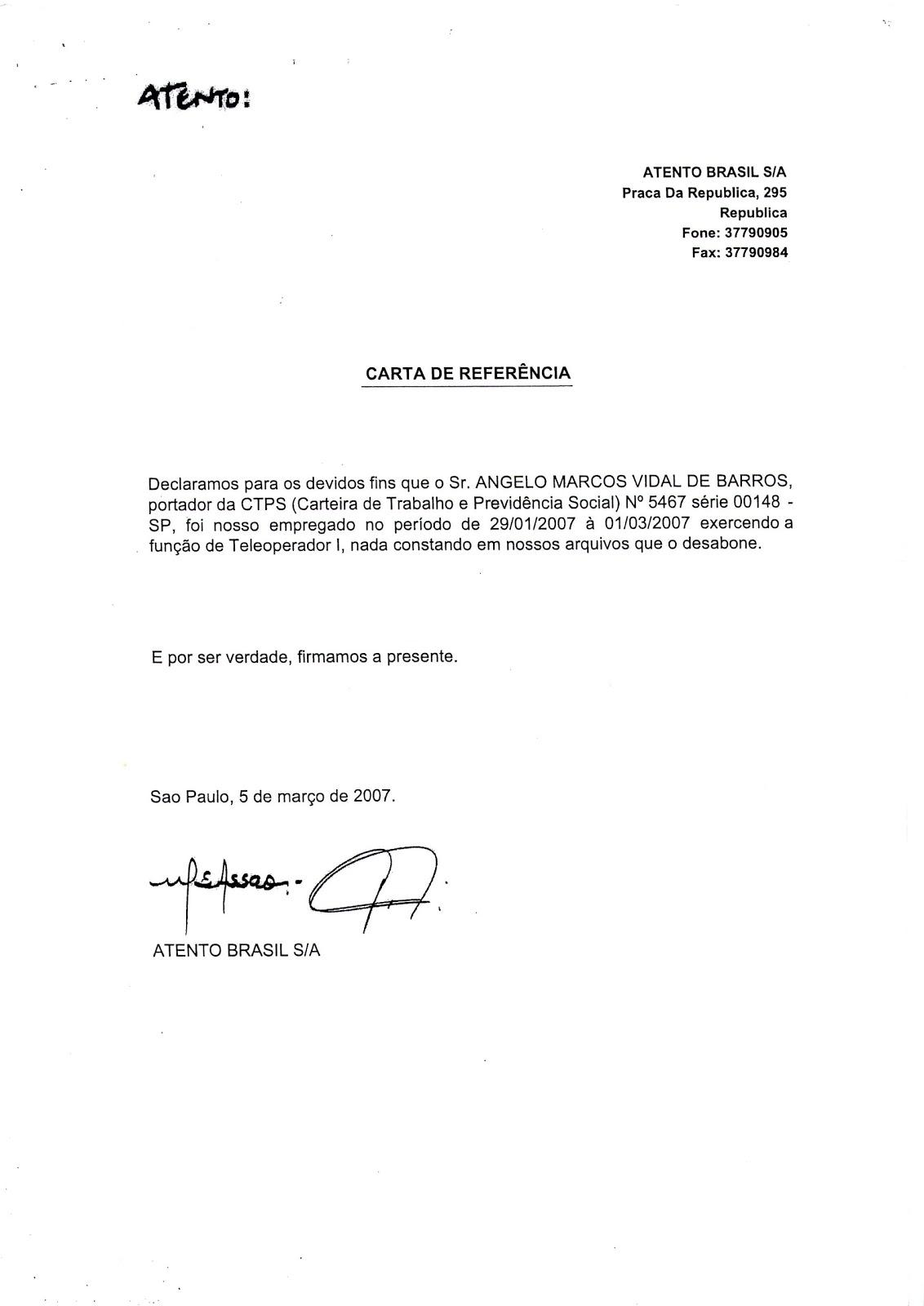 como hacer una carta de referencia personal - Ecza.solinf.co