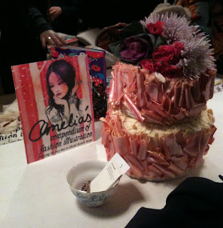 amelia's compendium of fashion illustration lily vanilli cake